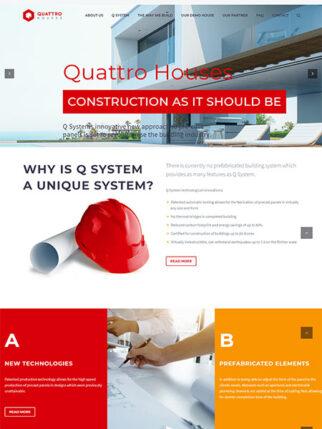 web dizajn Quattro Houses